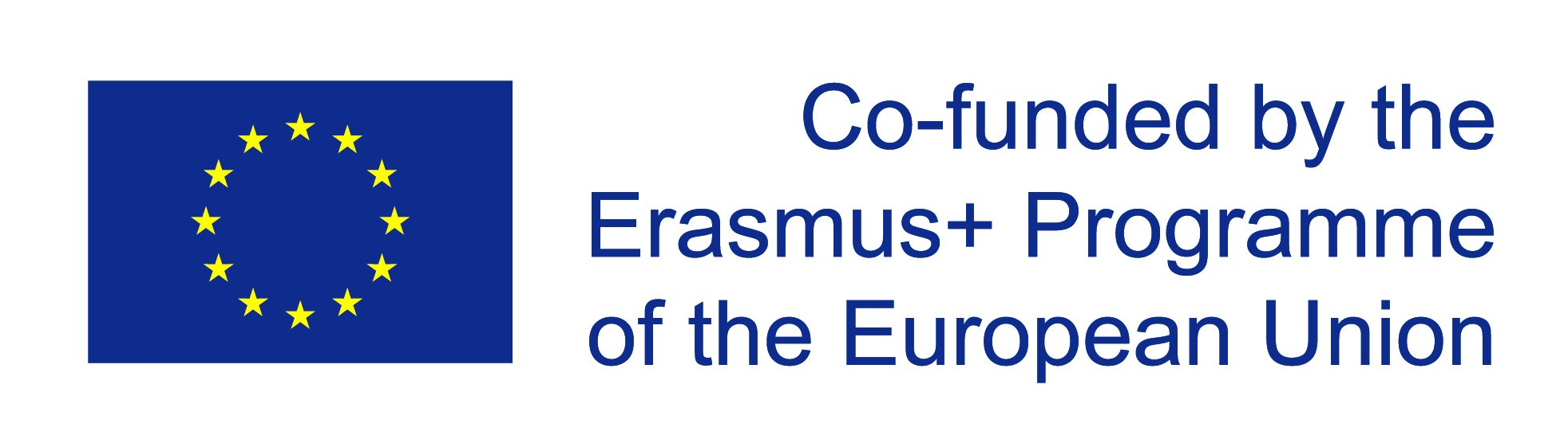 EU Logo - Project Co-funded by the Erasmus+ Programme of the European Union